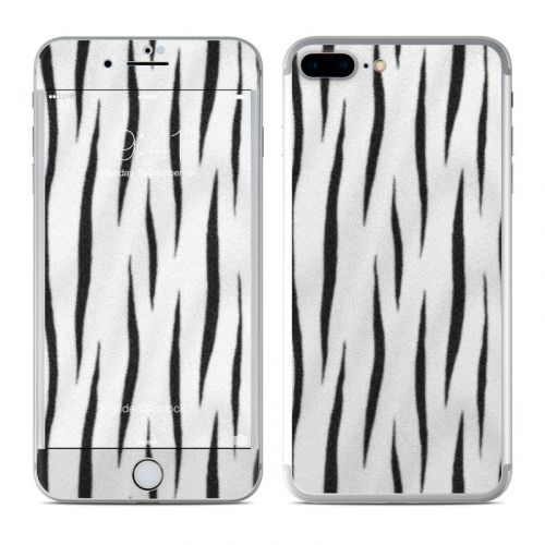 White Tiger Stripes iPhone 8 Plus Skin