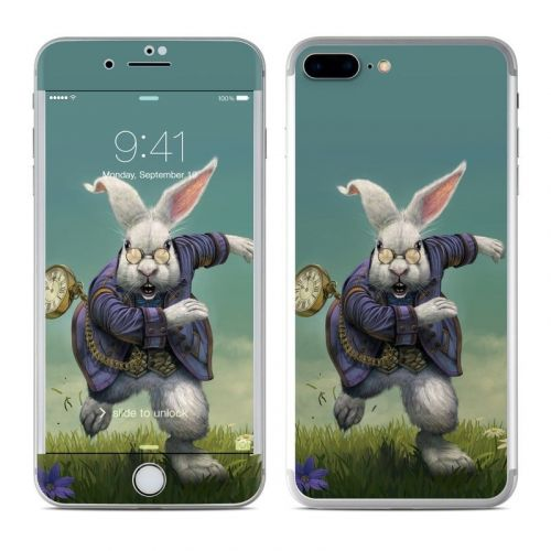 White Rabbit iPhone 8 Plus Skin