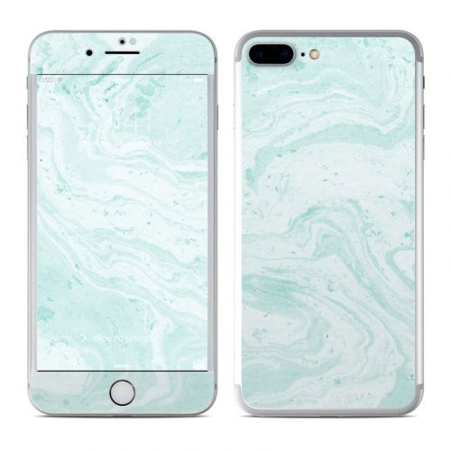 Winter Green Marble iPhone 8 Plus Skin