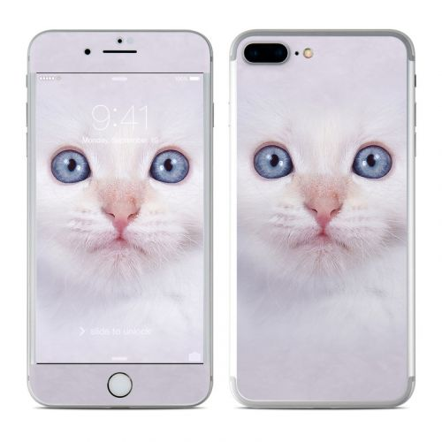 White Kitty iPhone 8 Plus Skin