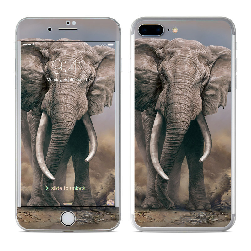 African Elephant iPhone 8 Plus Skin