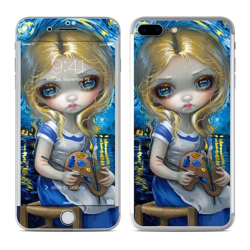 Alice in a Van Gogh iPhone 8 Plus Skin
