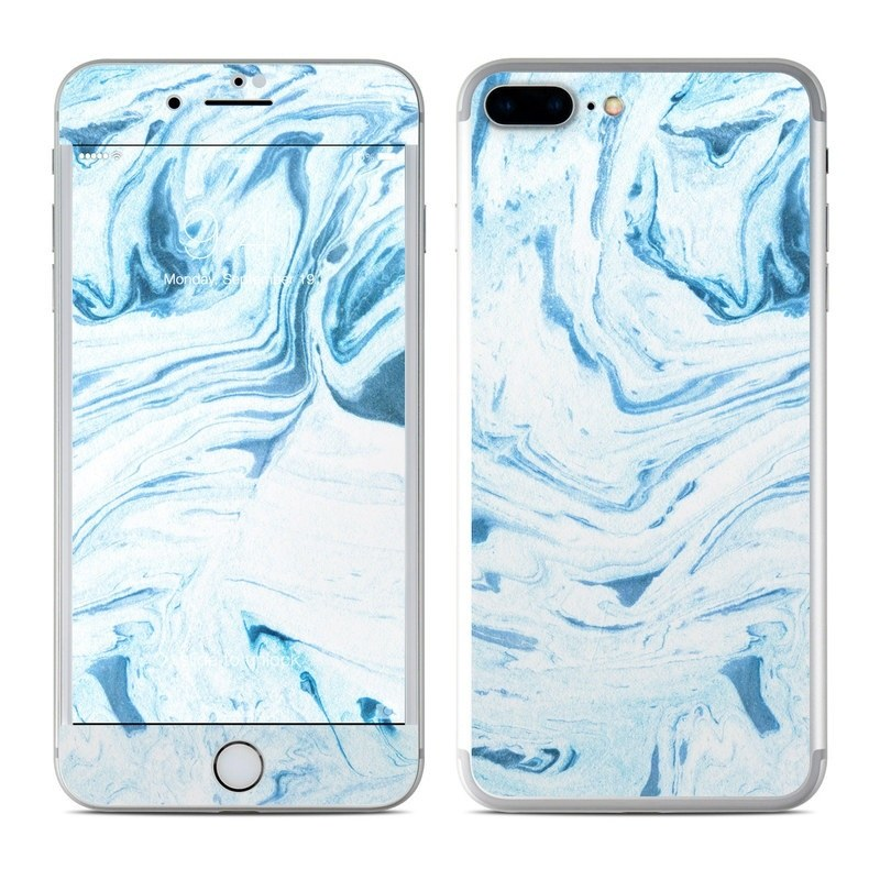 Azul Marble iPhone 8 Plus Skin