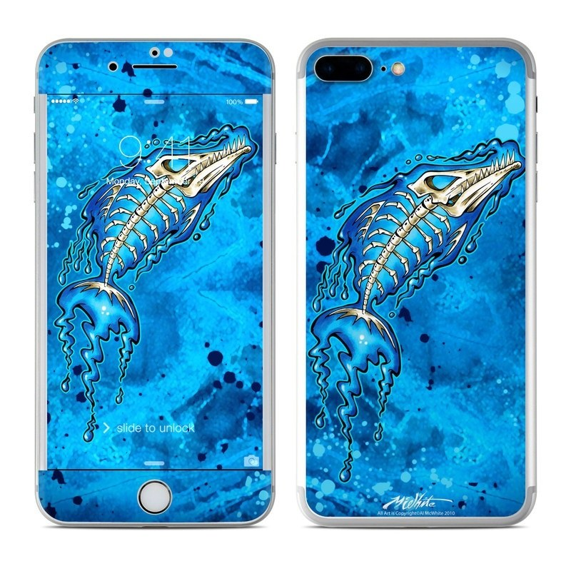 Barracuda Bones iPhone 8 Plus Skin