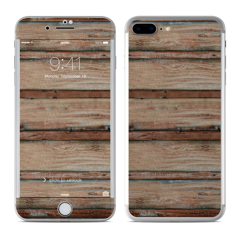 Boardwalk Wood iPhone 8 Plus Skin