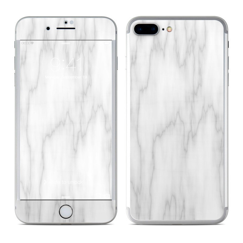 Bianco Marble iPhone 8 Plus Skin