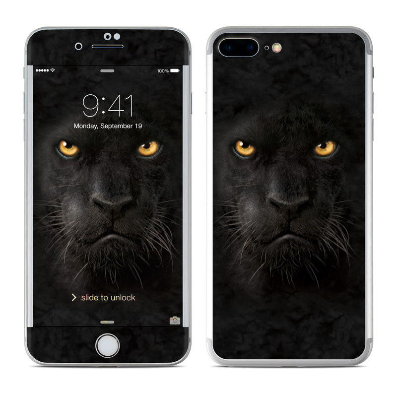 Black Panther iPhone 8 Plus Skin
