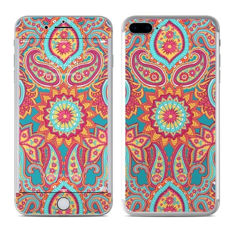 Carnival Paisley iPhone 8 Plus Skin
