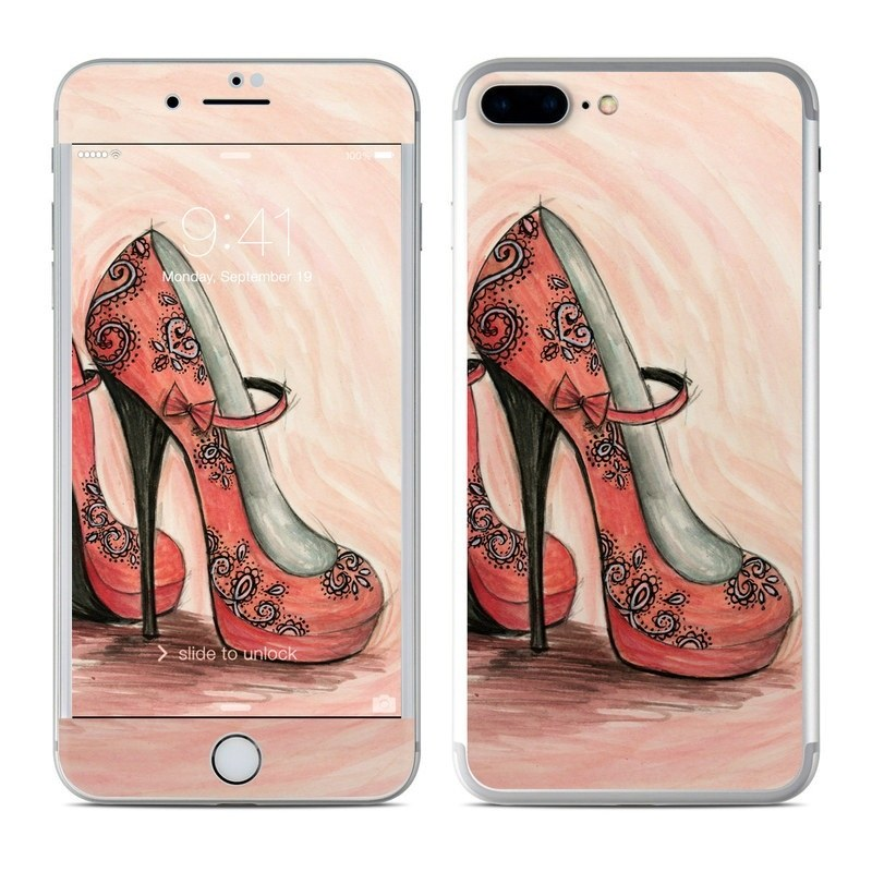 Coral Shoes iPhone 8 Plus Skin
