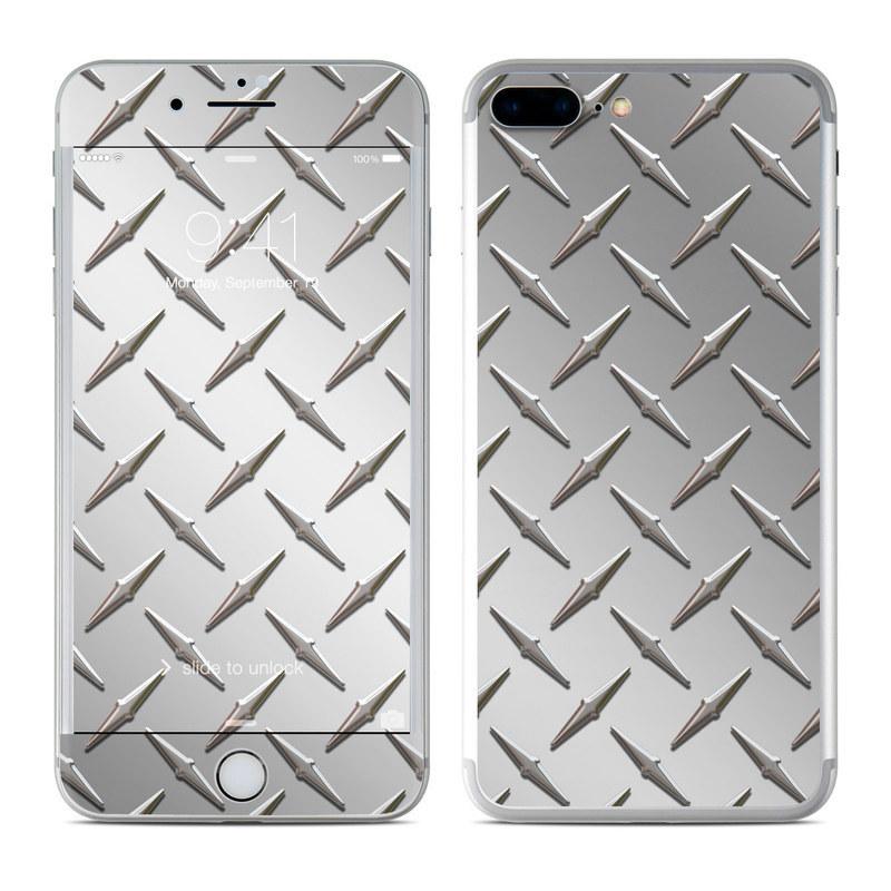 Diamond Plate iPhone 8 Plus Skin