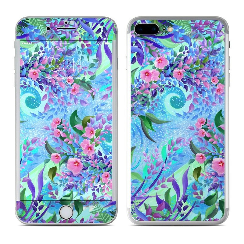 Lavender Flowers iPhone 8 Plus Skin