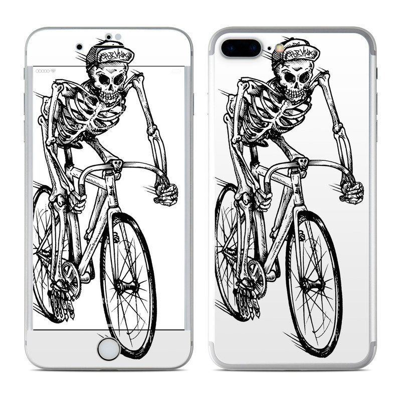 Lone Rider iPhone 8 Plus Skin