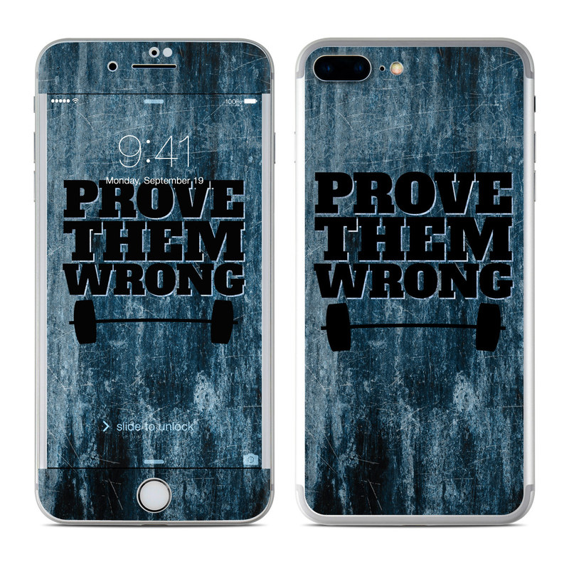 Prove Them Wrong iPhone 8 Plus Skin