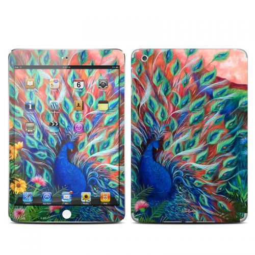 Coral Peacock iPad mini 1 Skin
