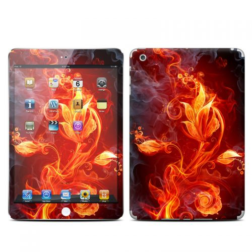 Flower Of Fire iPad mini Skin