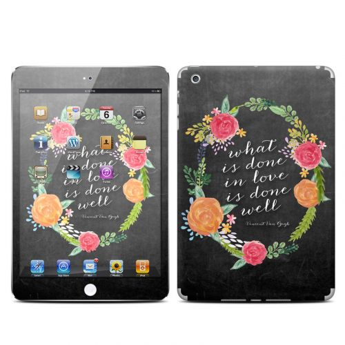 Love Done Well iPad mini Skin
