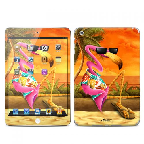 Sunset Flamingo iPad mini Skin