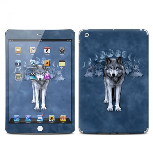 Wolf Cycle iPad mini Skin