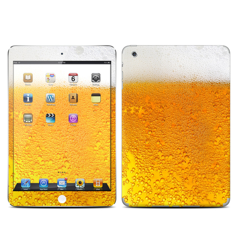 Beer Bubbles iPad mini Skin