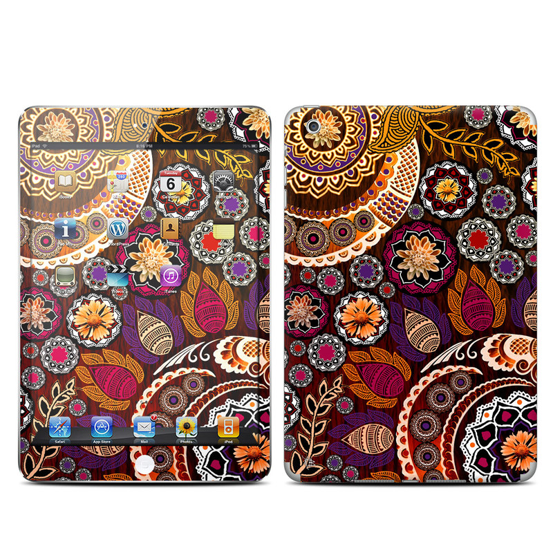 Autumn Mehndi iPad mini Skin