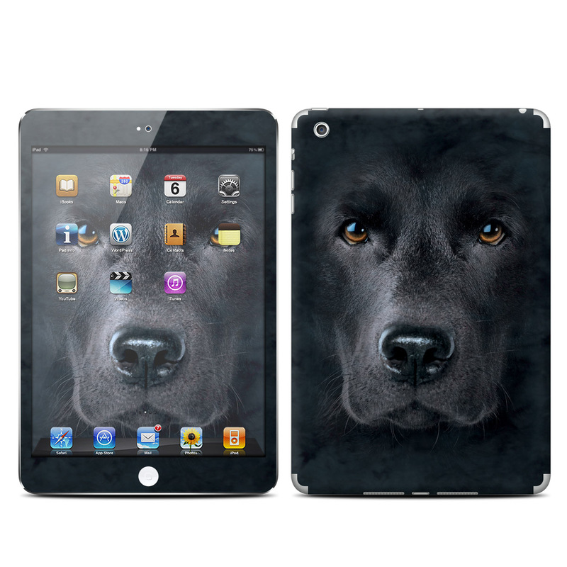 Black Lab iPad mini Skin