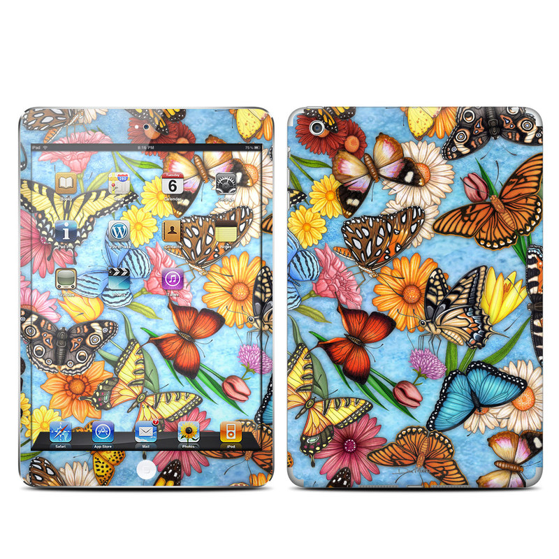Butterfly Land iPad mini Skin