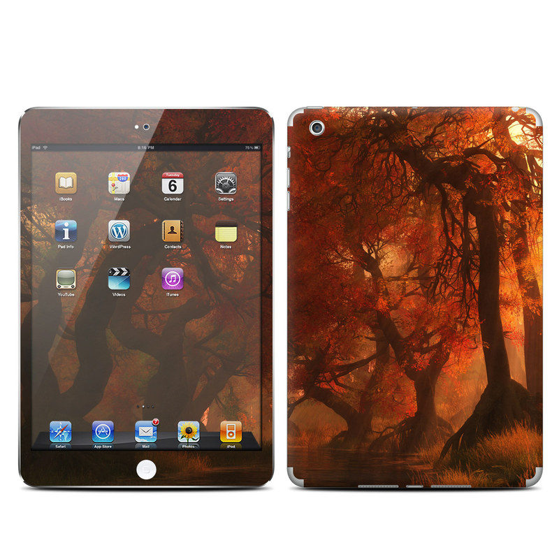 Canopy Creek Autumn iPad mini Skin