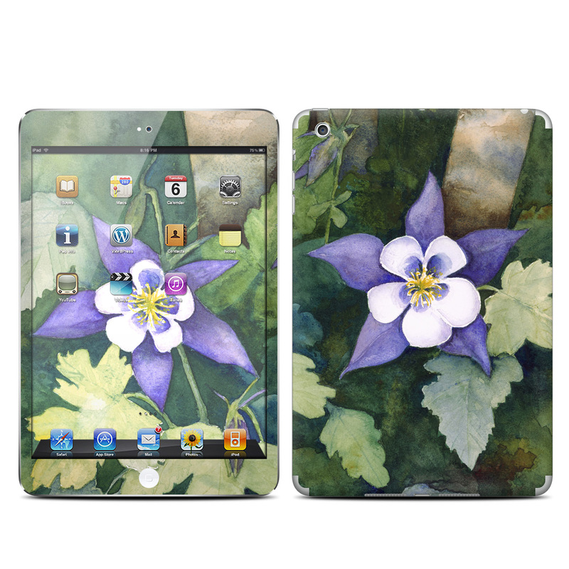 Colorado Columbines iPad mini Skin