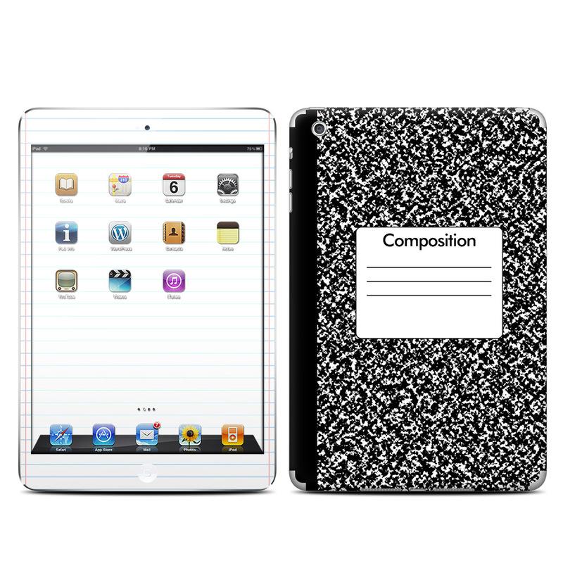 Composition Notebook iPad mini Skin