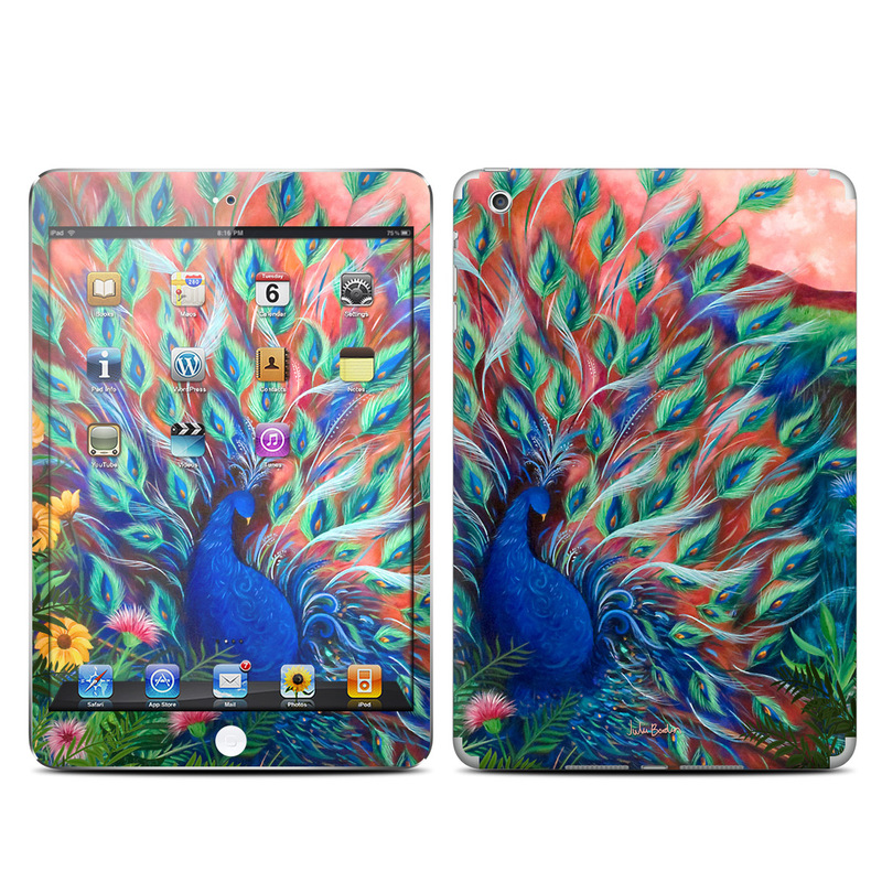 Coral Peacock iPad mini Skin