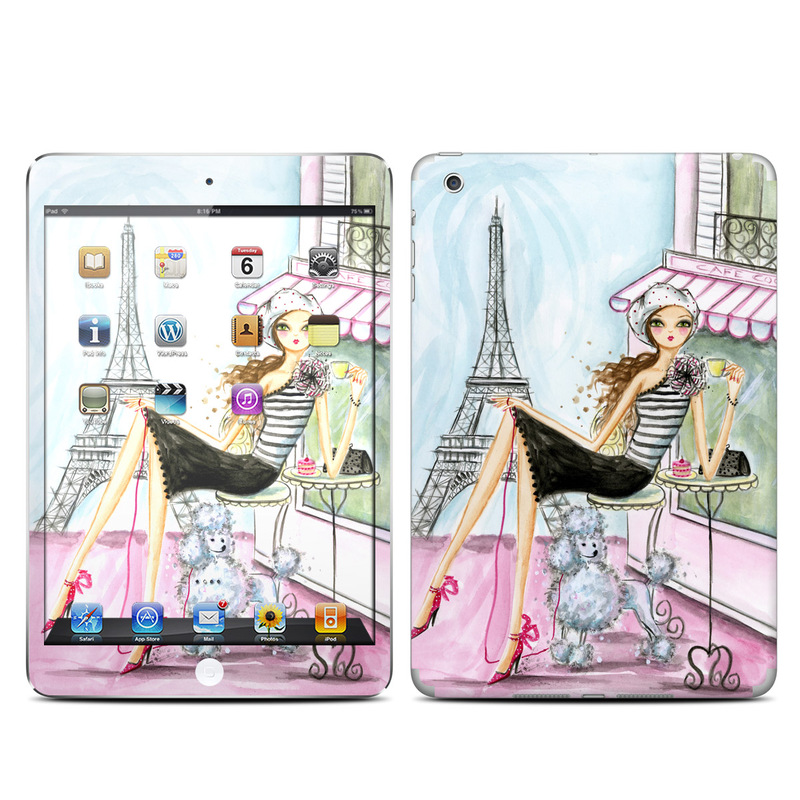 Cafe Paris iPad mini Skin