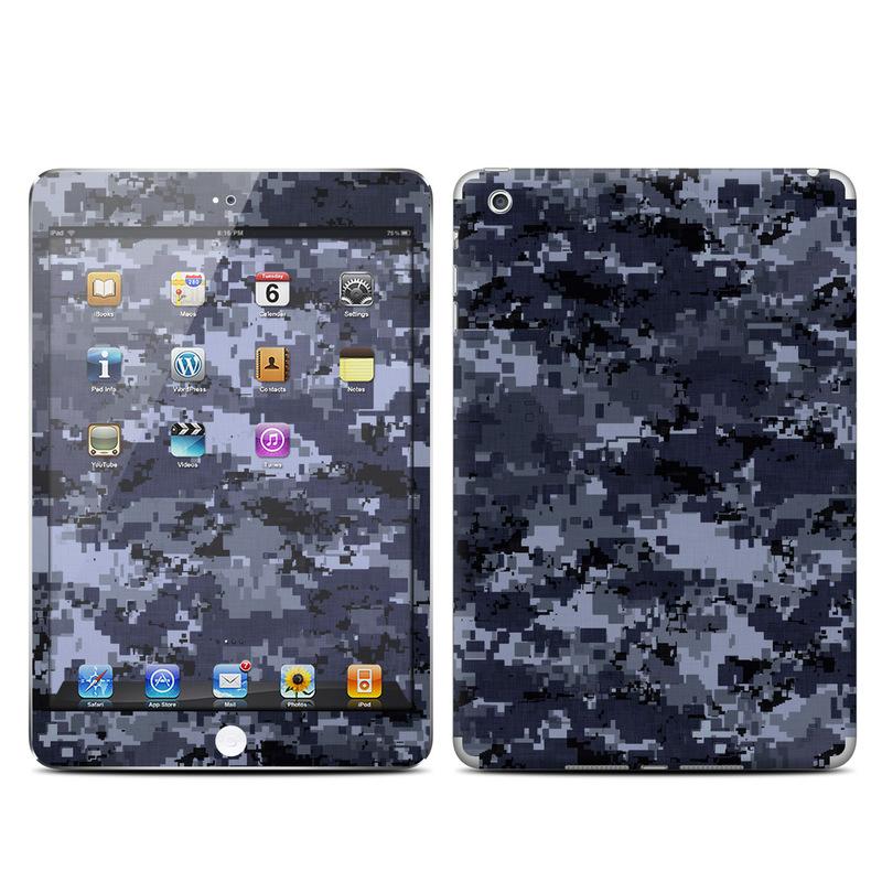 Digital Navy Camo iPad mini Skin