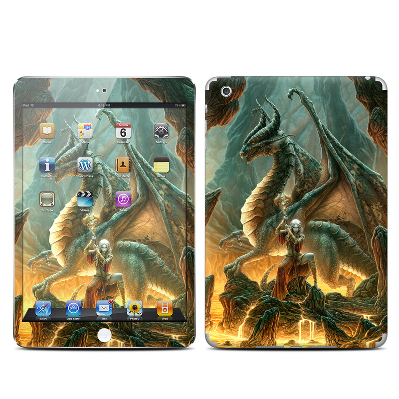 Dragon Mage iPad mini Skin
