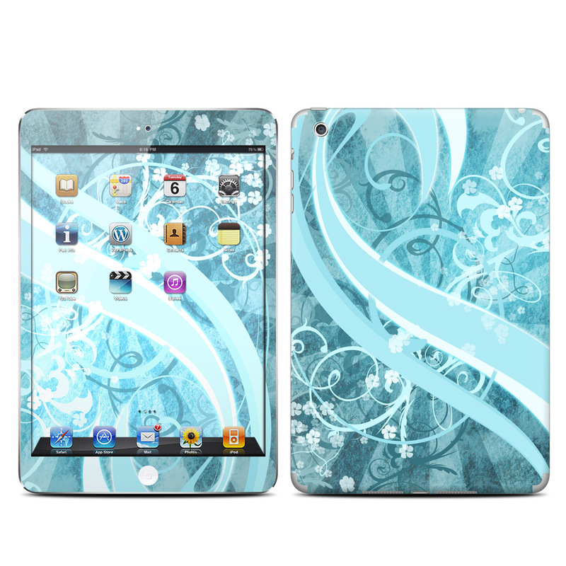 Flores Agua iPad mini Skin