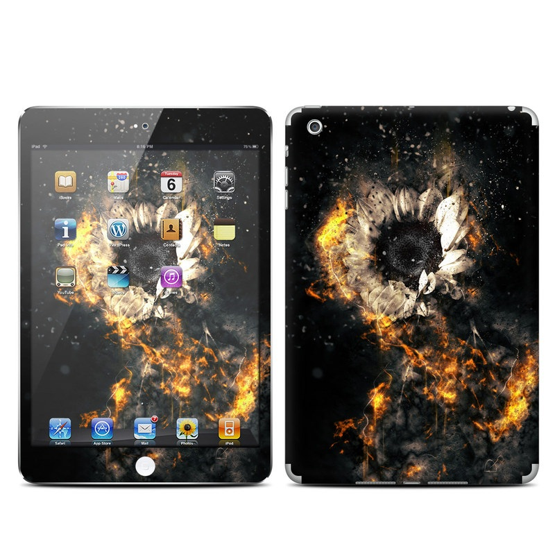 Flower Fury iPad mini Skin
