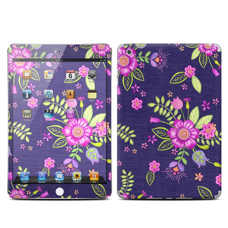 Folk Floral iPad mini Skin