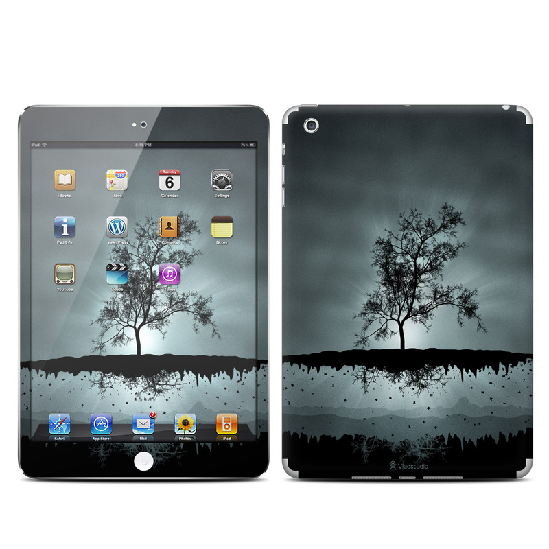 Flying Tree Black iPad mini Skin