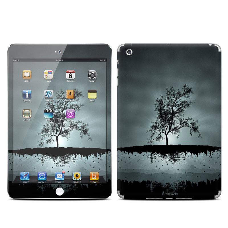Flying Tree Black iPad mini Skin