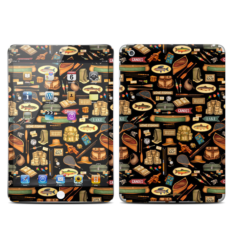 Gone Fishing iPad mini Skin