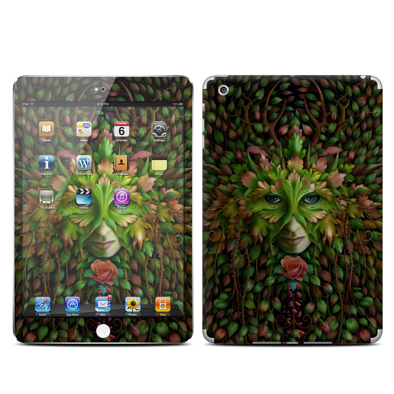 Green Woman iPad mini Skin