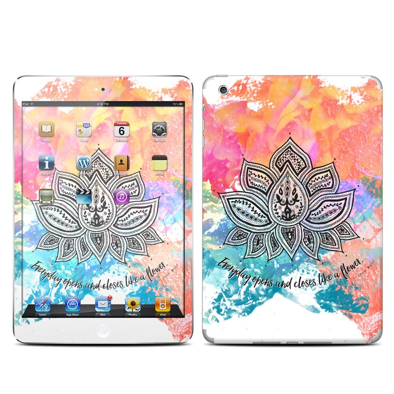 Happy Lotus iPad mini Skin