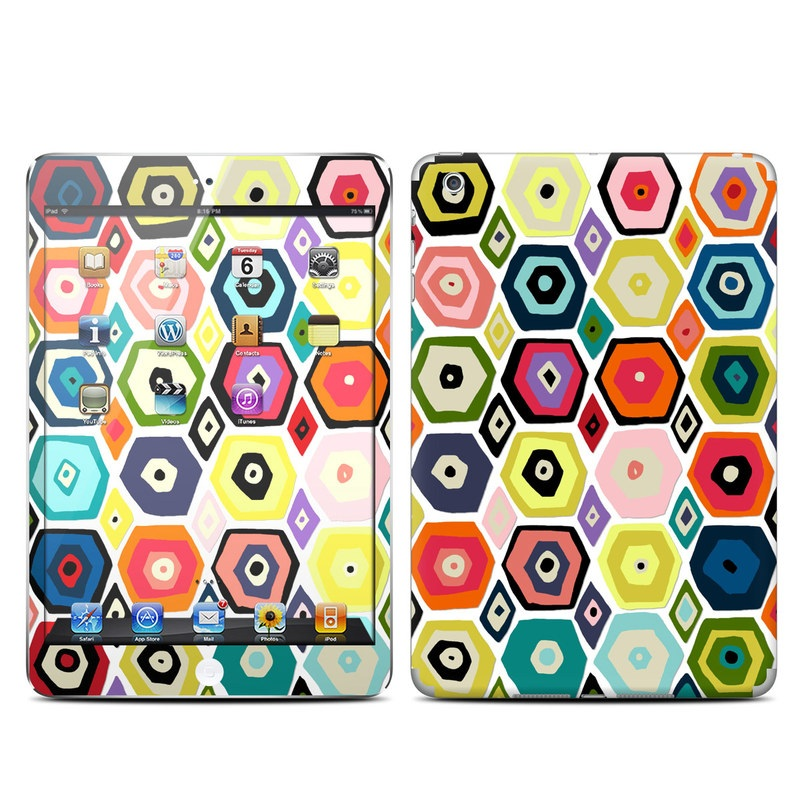 Hex Diamond iPad mini Skin