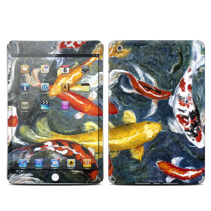 Koi's Happiness iPad mini Skin