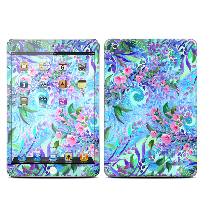 Lavender Flowers iPad mini Skin
