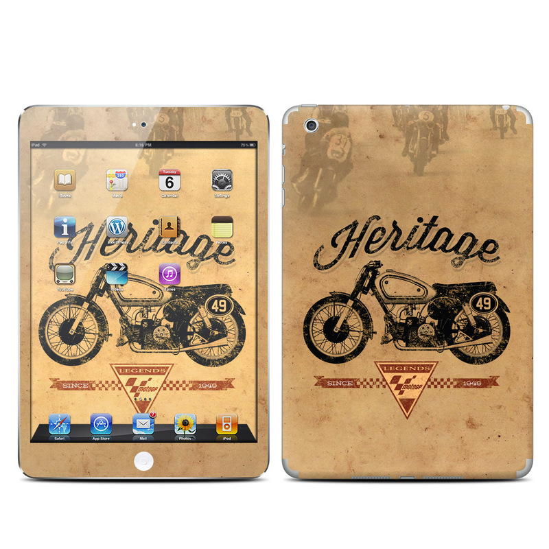 iPad mini 1 Skin design of Motor vehicle, Motorcycle, Vehicle, Font, Illustration, Logo, Graphics, Art, Car with green, gray, black, red colors