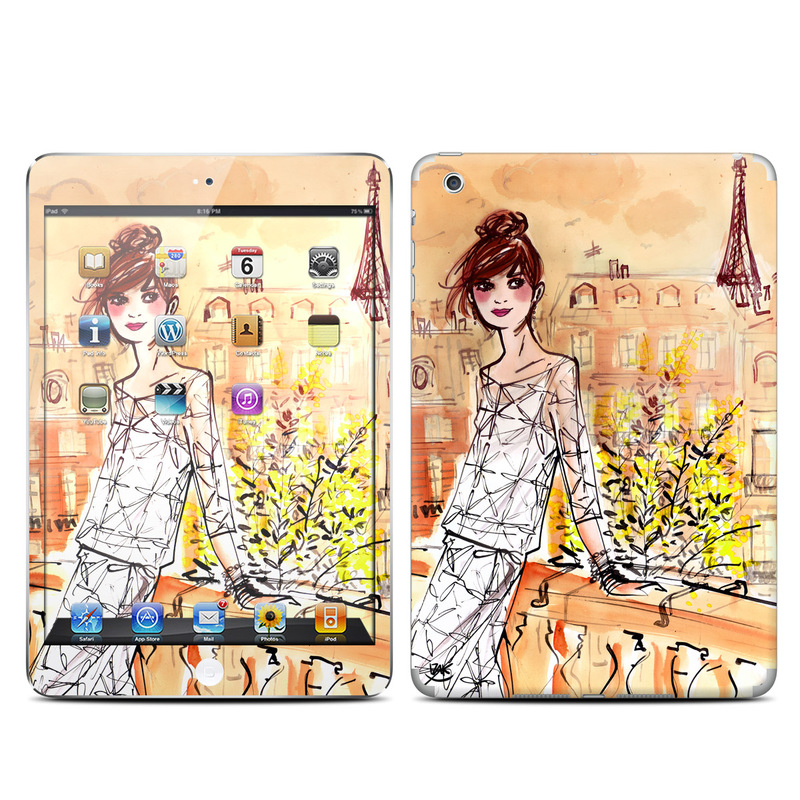 Mimosa Girl iPad mini 1 Skin