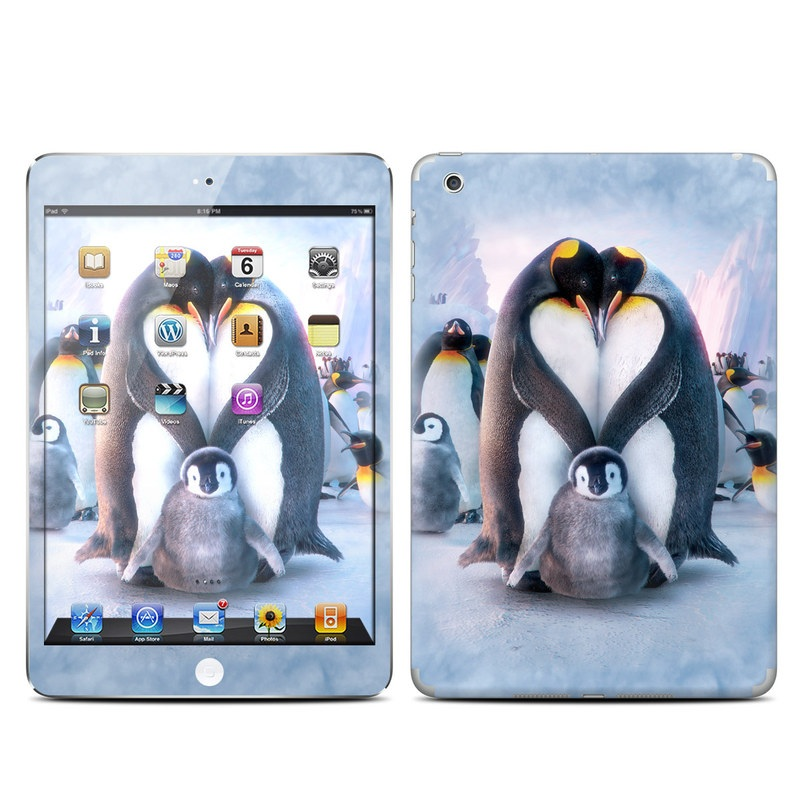 Penguin Heart iPad mini Skin
