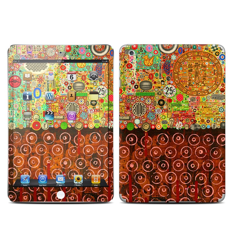 Percolations iPad mini Skin
