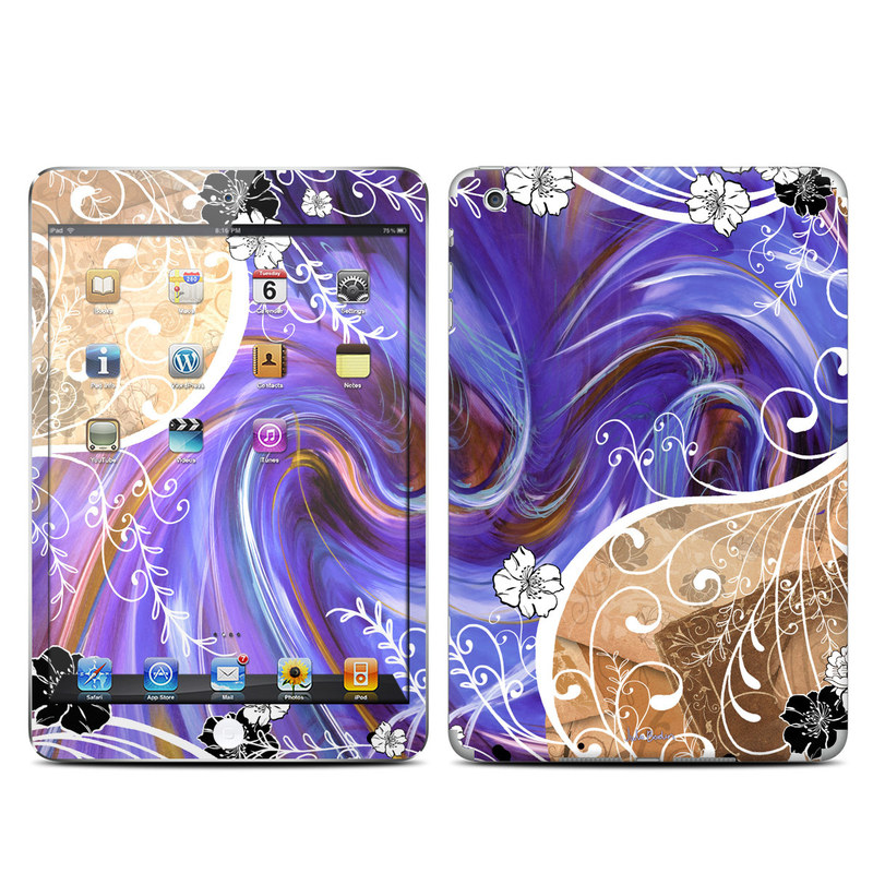 Purple Waves iPad mini 1 Skin
