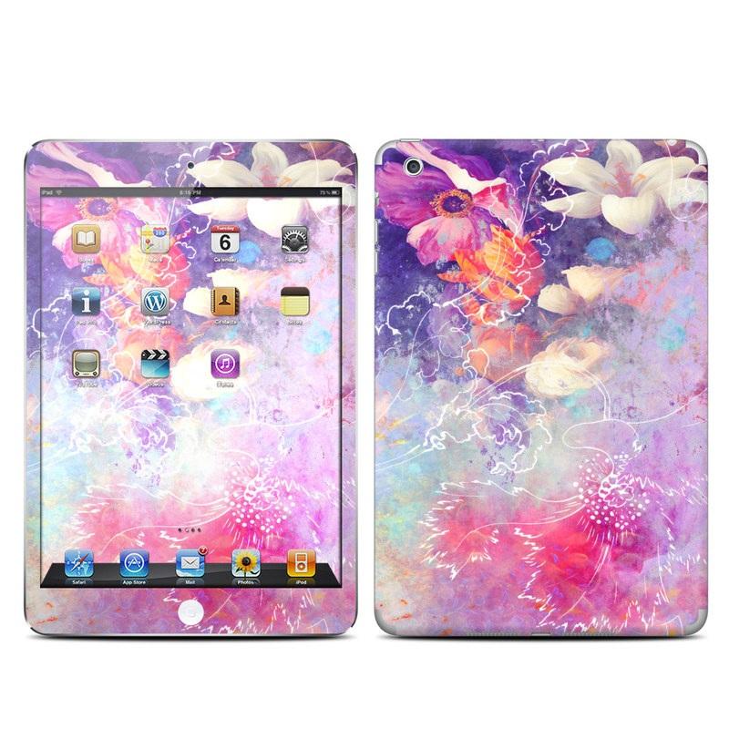 Sketch Flowers Lily iPad mini 1 Skin